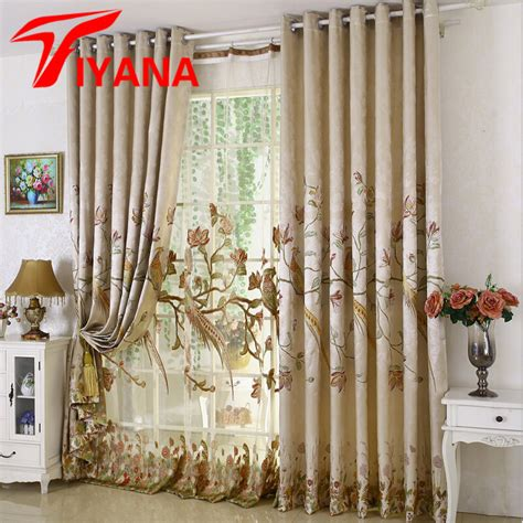 luxury home textiles curtains luxury floral printed curtains europe luxury home europe