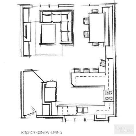 kitchen and living room floor plans best 25 small living dining ideas on pinterest living