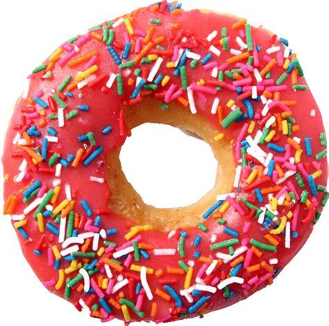 transparent doughnuts