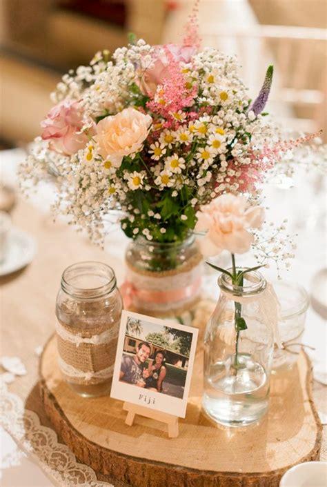 floreros de mesa para boda 25 ideas para hacer centros de mesa para boda digo portal