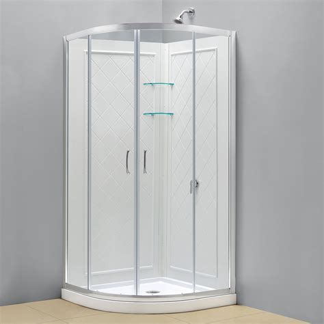 Stand Up Shower Kits by Shower Enclosure Kits