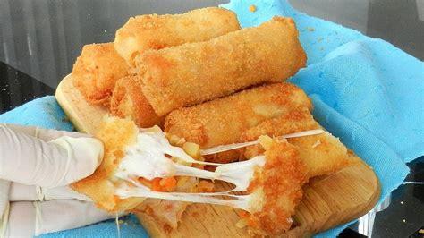 crunchy mozzarella rolls risoles mozzarella delicious