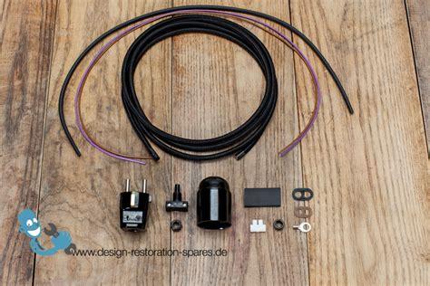 electrical rewiring electrical rewiring set for vintage kaiser idell 6551