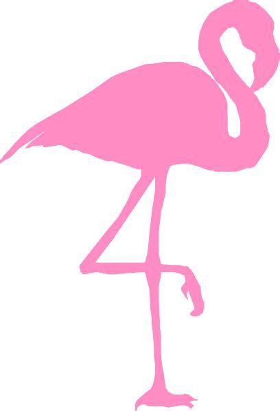 flamingo clip art at clker com vector clip art online