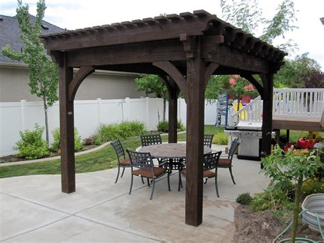 pergola in backyard get inspired backyard escape with diy timber frame