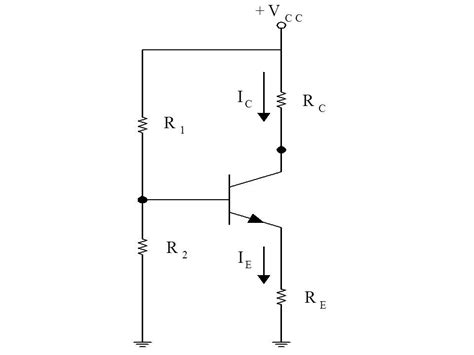 resistor divider bjt transistor biasing q or quiescent point dc load line ac load line stablity factor ece tutorials