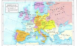 Map Of Europe 1815 by Europe 1815 Map