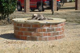 Brick Firepit Fireplaces And Pits Gallery Masterscapes 174