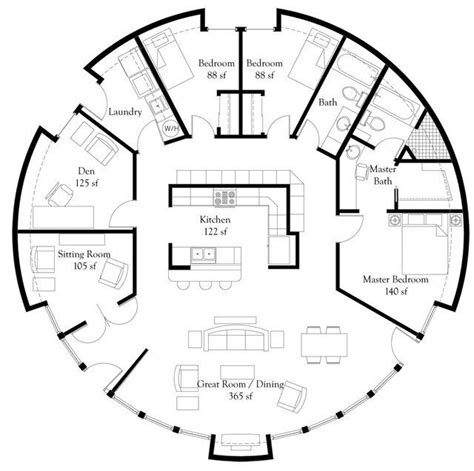 circular home floor plans best 25 round house plans ideas on pinterest