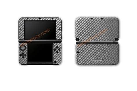 3m Skin Protector Nintendo New 3dsxl Fullset Carbon Print 1 graphite carbon fiber 3ds xl skins stickerboy skins for protecting your mobile device