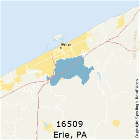 best places to live in erie zip 16509 pennsylvania