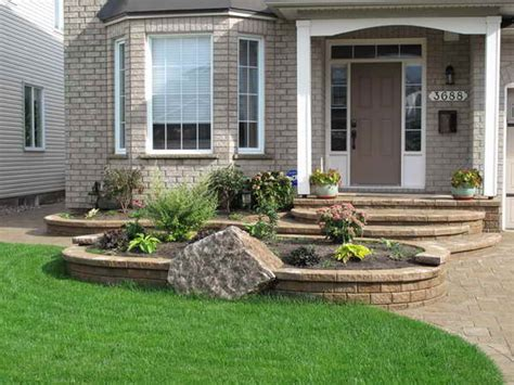 Garden Ideas For Front Of House Bloombety Landscaping Ideas With Wall Landscaping Ideas For Front Of House