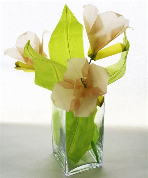 Origami Flower Bouquet Tutorial - 25 unique origami flower bouquet ideas on