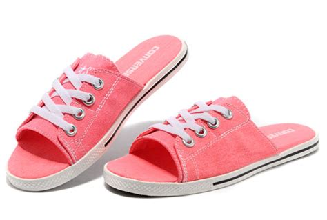 converse house shoes 2013 pink all star light converse slippers summer collection by avril lavigne canvas