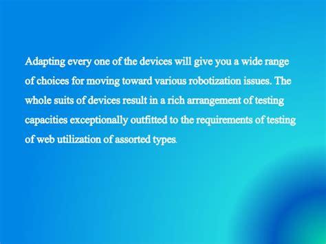 brief introduction of a brief introduction of a automation testing tool selenium