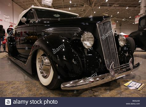 custom vintage classic luxury black american retro cars on