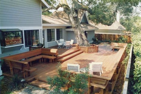 Images Of Backyard Decks by M M Builders Decks Arbors Patio Covers Deck Contractor