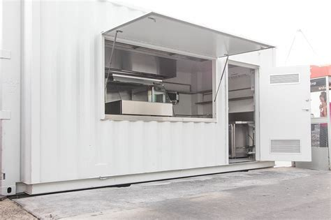 Shipping Container Kitchen by Container Kitchens