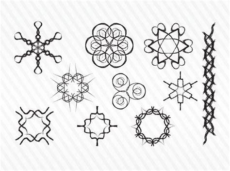 decorative symbols decorative sketch vector symbols vector art graphics
