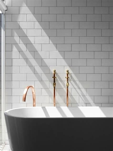 copper tiles bathroom 231 best images about bathrooms copper bronze brass on