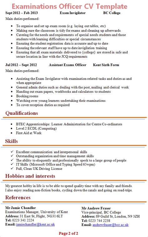 personal statement sixth form template personal statement 6th form exle
