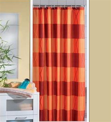 orange shower curtain orange shower curtains orange college shower curtain or