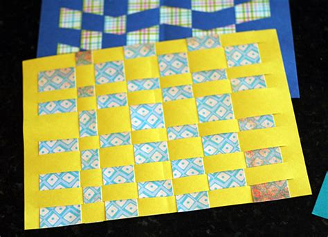 paper weaving crafts paper weaving for www pixshark images
