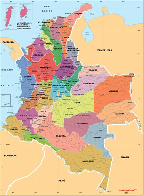 mapa de colombia bogot amrica del sur motorcycle review and mapa de colombia pol 237 tico regiones relieve para