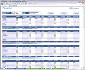Sheets Spreadsheet Excel Business Planner Time Sheet