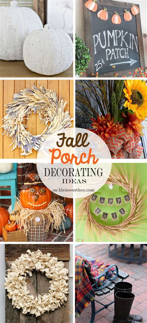 Best Diy Crafts Ideas Creative Reflection 365 Days To - fall porch decorating ideas kleinworth co