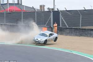 Alfa Romeo Performance Parts Brands Hatch Witnessed Spectacular Crash As Andrew Bourke