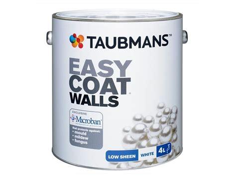 taubmans interior paint taubmans easycoat with microban 174 sensitive choice