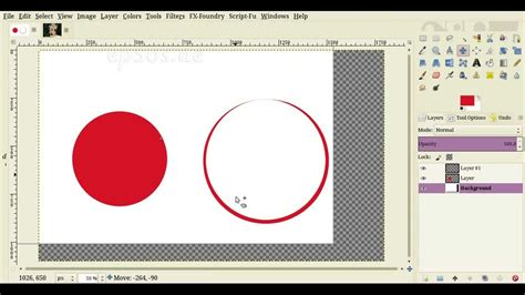 gimp tutorial text in a circle how to make circles with gimp drawing tutorial youtube
