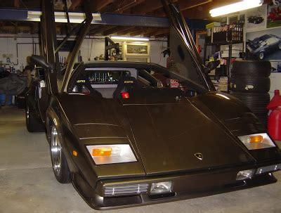 Builds Lamborghini In Basement Builds Lamborghini Countach In His Own Basement