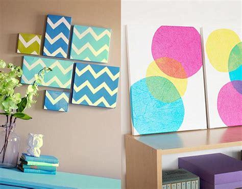 Handmade Room Decorations - diy wall decor interiorholic