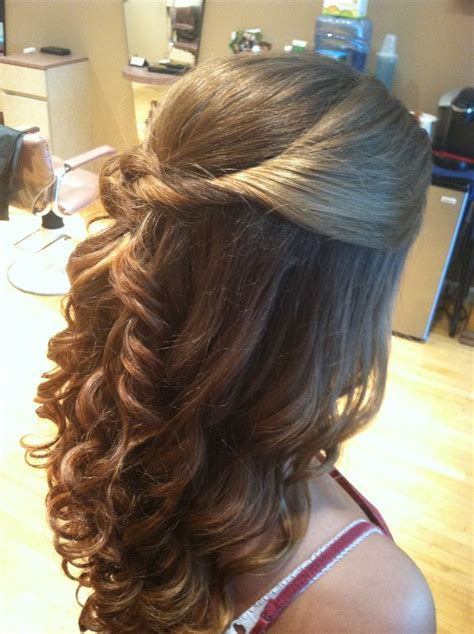 cascade haircut in 90s 51 best hair wedding do s prom hair images on pinterest