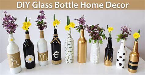 Diy Glass Bottle Decor by Diy Glass Bottle Home Decor 3 Simple Ideas Creativity