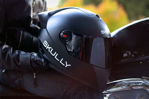 Motorradhelm Hud by Skully Heads Up Display Helmet Uncrate