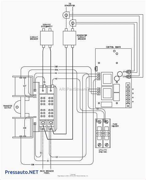 collection  generator automatic transfer switch wiring