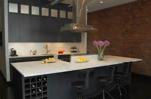 Wine Rack Kitchen Island by Kitchen Island Wine Rack Design Ideas