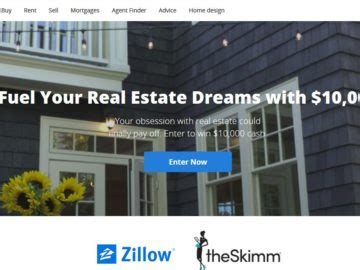 Realtor Sweepstakes - zillow real estate obsessed sweepstakes
