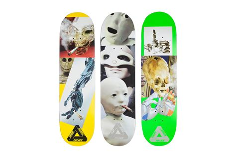 palace deck palace skateboards quot absence of god quot decks hypebeast