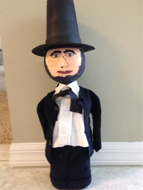 abraham lincoln bottle biography 21 best bottle buddy project images on pinterest school