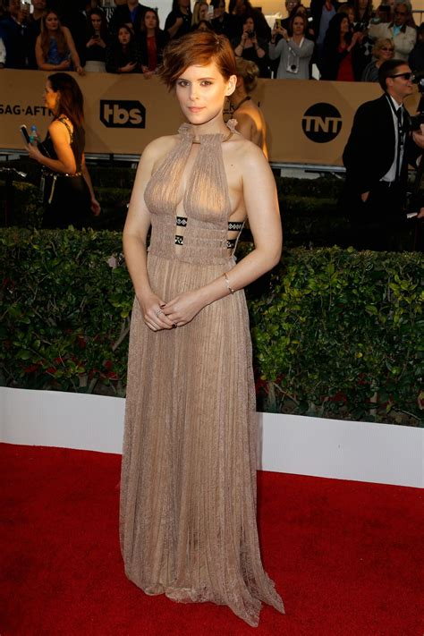 Cq At The Screen Actors Guild Awards by Kate Mara Screen Actors Guild Awards 2016 At Shrine