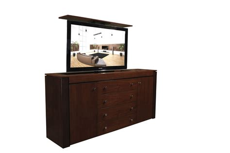 modern buffet walnut tv lift cabinet custom made tv cabinets