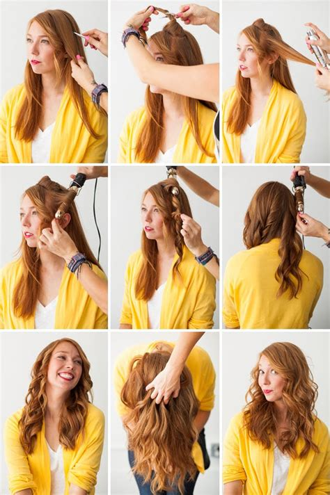 easy hairstyles curling iron hair hacks 3 foolproof ways to make waves brit co