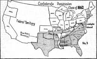 best photos of usa map civil war confederate and union