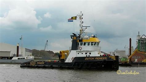pioneer boats youtube tug dutch pioneer pbbk imo 9229544 with nostag 10 dmnc in