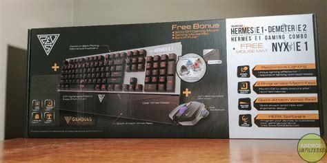 Gamdias Combo Hermes E1 3 In 1 Keyboard Mouse Mousepad gamdias hermes e1 mechanical gaming keyboard and mouse combo review
