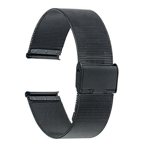 TRUMiRR:TRUMiRR 16mm Watchband Mesh Stainless Steel Metal